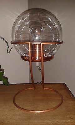 Copper and glass Industrial Retro Lamp