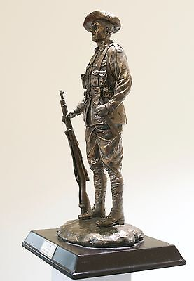 Anzac  Bronze Silent Soldier WW1 -The Digger- Limited Edition