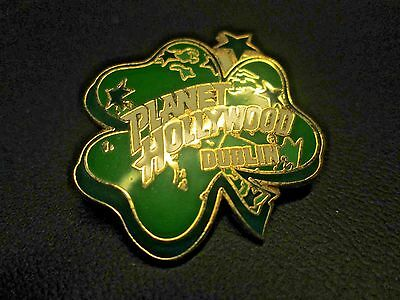 Four Leaf Clover Planet Hollywood Pin from Dublin