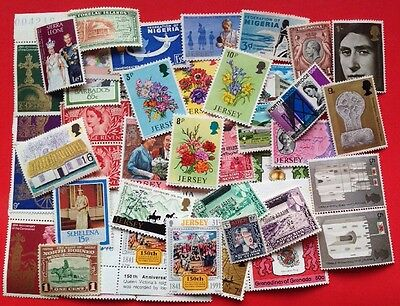 COMMONWEALTH - Mint Collection (4)  Over 40 Stamps.