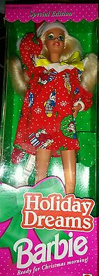 Barbie Holiday Dreams 1994 Christmas Doll Special Edition Mattel NEW