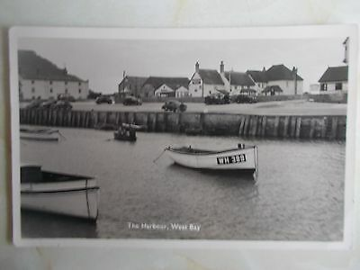 Dorset:West Bay Real photo postcard.