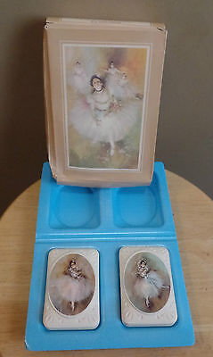 """Vintage Avon """"BEAUTY IN MOTION"""" 2 Special Occasion Fragranced SOAP Bars with BOX"""
