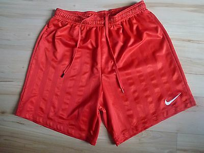 Mens red Nike shorts Size M