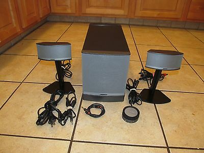 Bose Companion 5 Multimedia Computer Speaker System-Great Condition!
