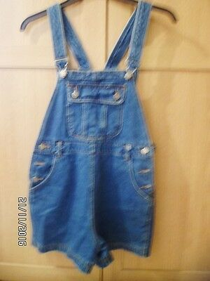 Girl's Denim Dungarees  New Look 915 Height 152