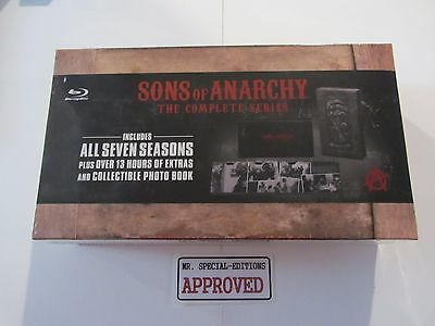 Sons of Anarchy: The Complete Series (Blu-ray Disc, 2015, 23-Disc Set) NEW