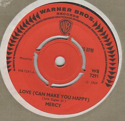 Mercy Love can make you happy Warner Bros. WB 7291 Ex Issued on London