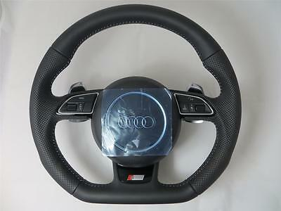 Audi S-Line NEW Steering wheel with Airbag A4 A5 Q5 Q7 RS6 RS7 DSG Lenkrad
