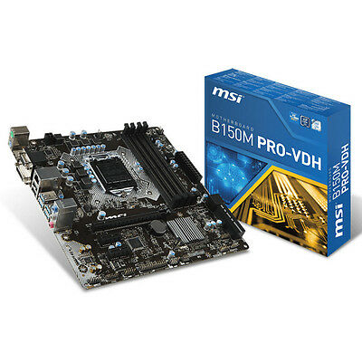 Placa base MSI B150M PRO-VDH LGA1151 DDR4 USB3/HDMI