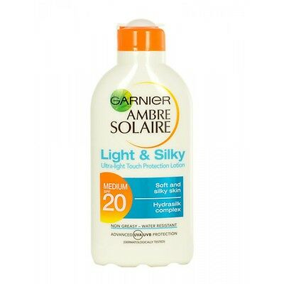 Garnier Amber Solaire Light and silky Sun Cream. Choose your SPF level.-SPF 20 2