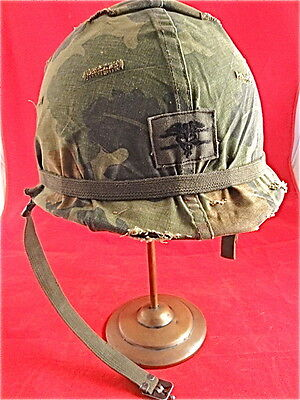 M1 HELMET, GROUND TROOPS COMPLETE w/Ration Accessory Pack