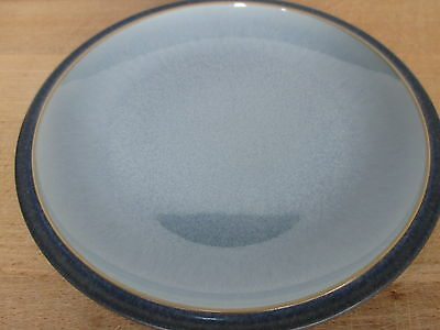 Denby Pottery Blue Jetty 3 x New First Quality Tea Plates Excellent Condition