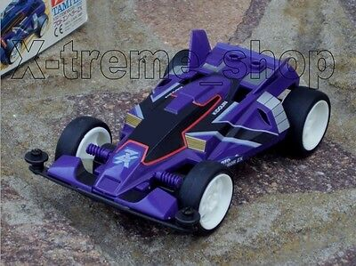 Tamiya 18038 Mini 4WD DASH PROTO EMPEROR ZX - Type 0 Chassis 100% COMPLETE JAPAN