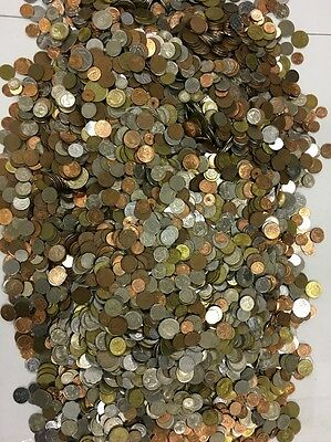 60 Pounds Of Mixed World Coins Lot 5
