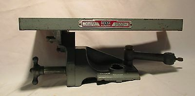 Delta Rockwell DDL 30, 31, 290  Lathe Sanding Table Cast Iron Accessory, EXC!
