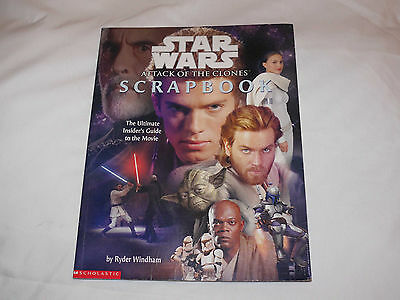 Star Wars Attack of the Clones Scrapbook 2002 maybe 1st Edition