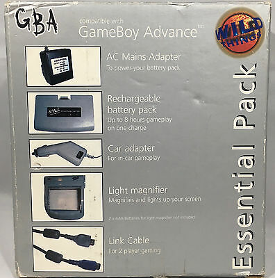 Accssessory Pack For Nintendo Gameboy Advance - Gba