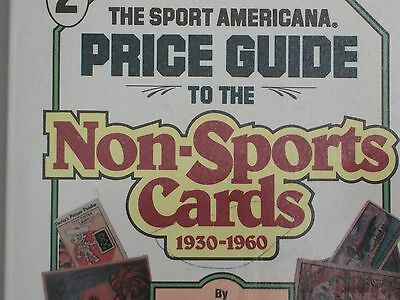 Copyright 1993 The Sport Americana Price Guide To The Non-Sports Cards 1930-1960