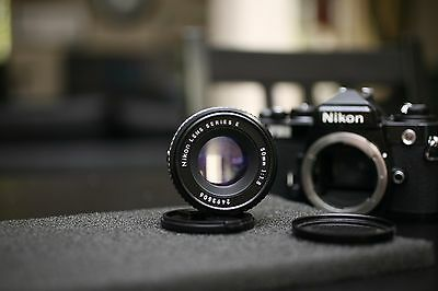 NIKON 50mm MANUAL  F1.8 SERIES E LENS - EXCELLENT CONDITION