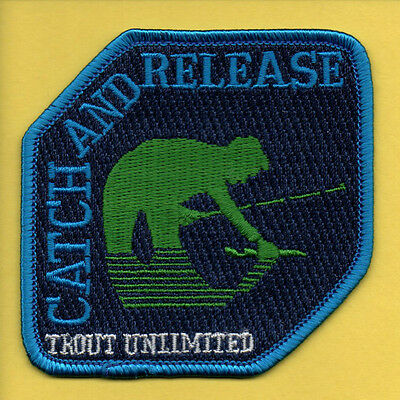 Pa Pennsylvania Fish Commission related Trout Unlimited TU Catch & Release patch