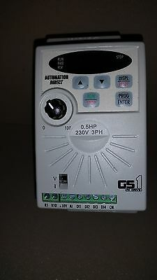 automation direct GS1-20P5 ac drive .5 hp.