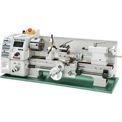 "G0768 Grizzly 8"" x 16"" Variable-Speed Metal Lathe"