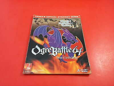 Ogre Battle 64 Person of Lordly Caliber - Prima's Games Official Strategy Guide