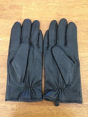 CHAPS Leather Gloves Women's Size L