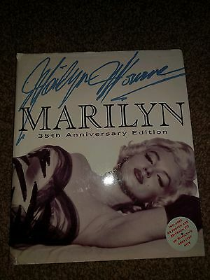 marilyn monroe 35th anniversary book hardback
