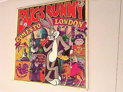 Bugs Bunny Comes To London 1973 Vinyl Lp