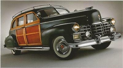 1949 Cadillac Woody Station Wagon Postcard