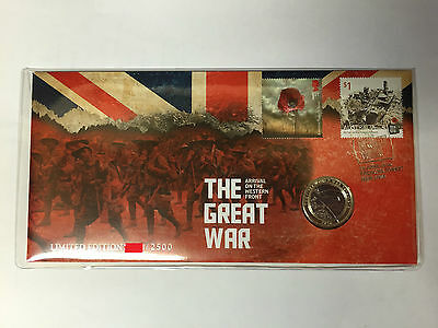 2016 Australia Post The Great War Western Front PNC / FDC Limited Edition