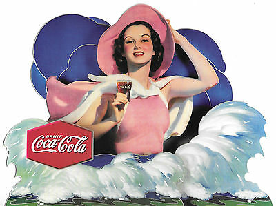 Coca-Cola Stand-Up (Never Unfolded ) Age Unknown - Vintage?