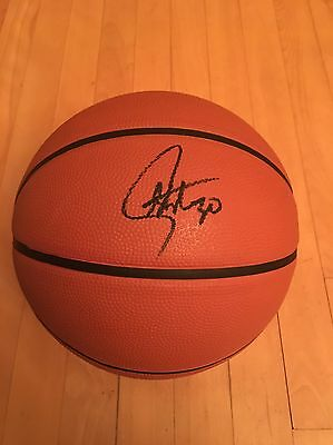 Stephen Curry Signed And 1 Fantom Basketball COA Golden State Warriors