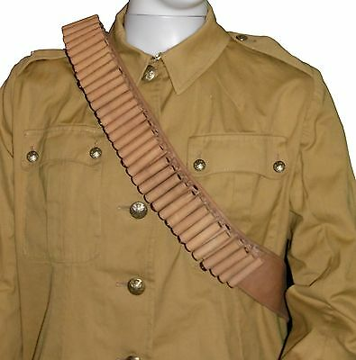 British Victorian Anglo Boer War Mills Orndorff Bandolier Replica .303 100 Rnds