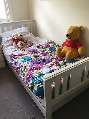 Children's Single Bed With Trundle