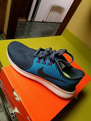 Nike Women' Free RN Commuter Running Sneakers Squadron Blue 831511400 size 10us