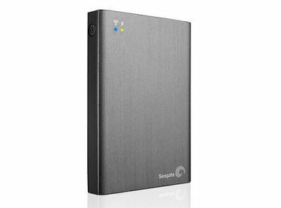 Seagate Wireless Plus 2TB Portable Hard Drive with Built-in WiFi