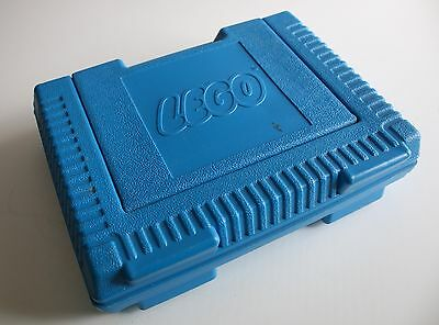 Retro 1980s Blue LEGO Carry Case Storage Case