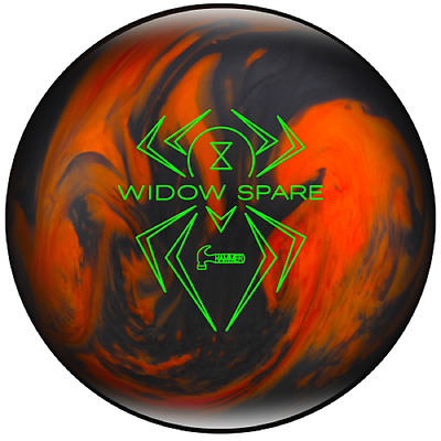 14lb Hammer Widow Spare Polyester Bowling Ball Orange/Black Pearl Dry Lane Ball