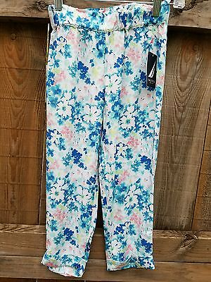 NEW NWT - Nautica -- Youth Girls 6t Toddler Floral Pants