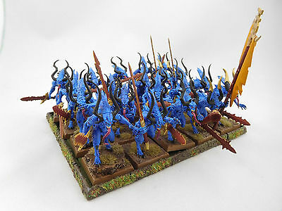 Warhammer [Daemons of Chaos] Bloodletters [Painted]