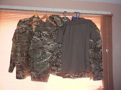 Job lot of British Army MTP Uniform (002)