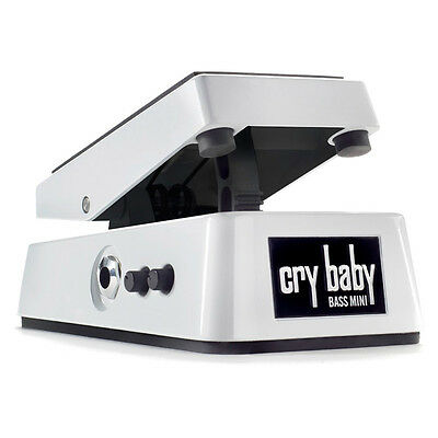 Dunlop CBM105Q Crybaby Basso Mini Wah Pedale (NUOVA)