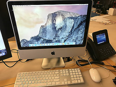 "Apple iMac 20"" 2.66 MB324X/A , 2008, 320gb HDD, 4gb Memory, Yosemite OS +Mouse."