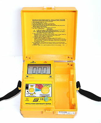Toptronic Cabac T1851 DIGITAL Insulation Continuity Meter Tester 1000V
