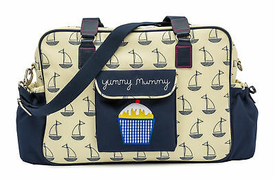 Pink Lining Sac à langer Yummy Mummy voile Boats