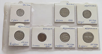 COLLECTION LOT  AFGHANISTAN 7pc 53g #xxm 143