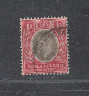 "£1.49  - A ""SOMALILAND PROTECTORATE"" 1a issue SG46 (1905-11)."